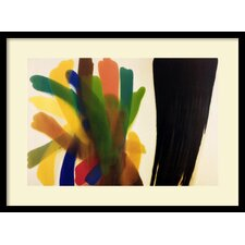 'Winged Hue II' by Morris Louis Framed Graphic Art