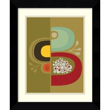 'Division No. 1' by Jenn Ski Framed Painting Print