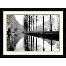 'Canal, Normandy' by Bill Philip Framed Photographic Print