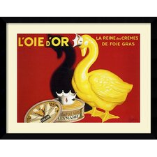 'L'Oie d'Or (The Golden Goose)' by Leonetto Cappiello Framed Painting Print