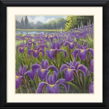 'Gardenscape One' by Karen Dupre Framed Painting Print