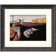 'The Persistence of Memory, 1931' by Salvador Dali Framed Art Print