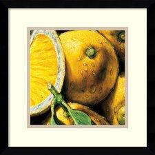 'Lemons' by Alma'Ch Framed Photographic Print