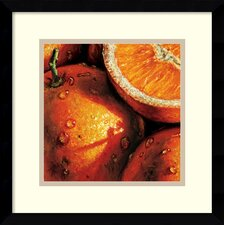 'Oranges' by Alma'Ch Framed Photographic Print