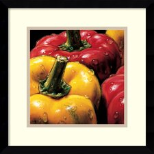 'Peppers' by Alma'Ch Framed Photographic Print