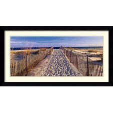 'Pathway to the Beach' by Joseph Sohm Framed Art Print