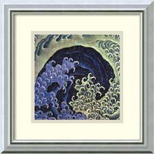 'Feminine Wave' by Katsushika Hokusai Framed Art Print