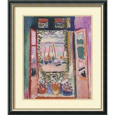'Open Window, Collioure, 1905' by Henri Matisse Framed Art Print