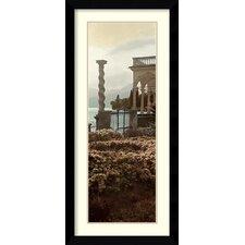 'Portico Vista' by Alan Blaustein Framed Art Print