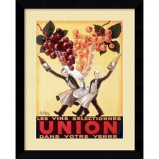 'Union, 1950' by Robys - Robert Wolff Framed Vintage Advertisement