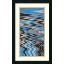 'River Runs Deep I' by Ricki Mountain Framed Art Print