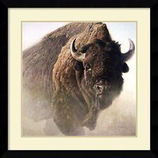 'Chief' by Robert Bateman Framed Painting Print