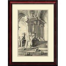 'Vintage Roman Ruins IV' by Giovanni Battista Piranesi Framed Art Print