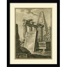 'Grecian Tablet II' Framed Art Print