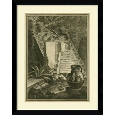 'Grecian Tablet I' Framed Art Print