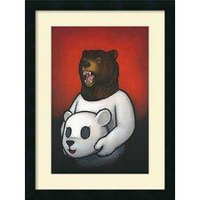 'Bear in Mind' by Luke Chueh Framed Art Print