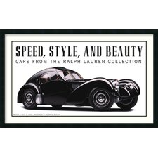 'Speed, Style, and Beauty: Cars From the Ralph Lauren Collection' by Michael Furman Framed Art Print