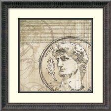 'Neoclassic III' by Amori Framed Art Print