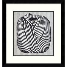 'Ball of Twine, 1963' by Roy Lichtenstein Framed Art Print