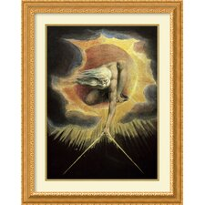 'The Ancient of Days' by William Blake Framed Art Print