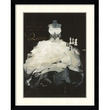 'Queen' by Antonio Massa Framed Art Print