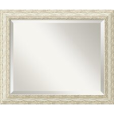 <strong>Amanti Art</strong> Cape Cod Medium Mirror in Rustic Whitewash