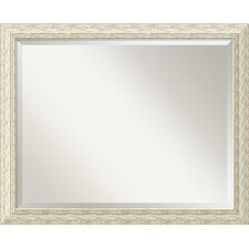 Cape Cod Large Mirror in Rustic Whitewash