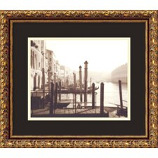 "<strong>Amanti Art</strong> Venice by David Westby, Framed Print Art - 13.85"" x 15.85"""