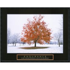 "<strong>Amanti Art</strong> Endurance - Fall Tree Framed Print Art - 23.02"" x 29.02"""