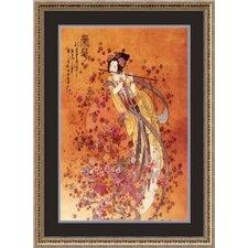 Goddess of Prosperity Framed Painting Print