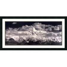 'Mount McKinley Range, Denali National Park, Alaska' by Ansel Adams Framed Photographic Print