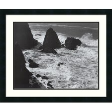"Pacific Vista, 1966 by Ansel Adams, Framed Print Art - 22.32"" x 26.69"""