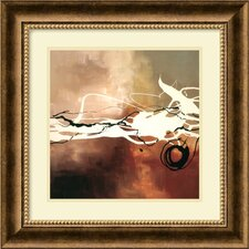 "Copper Melody II by Laurie Maitland, Framed Print Art - 17.97"" x 17.97"""