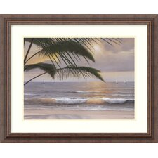 "<strong>Amanti Art</strong> Paradiso by Diane Romanello, Framed Print Art - 18.23"" x 22.3"""