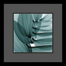 "<strong>Amanti Art</strong> Lily Leaves by Steven N. Meyers, Framed Print Art - 13.29"" x 13.29"""