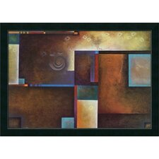 "Satori I by Mari Giddings, Framed Canvas Art - 25.18"" x 35.18"""