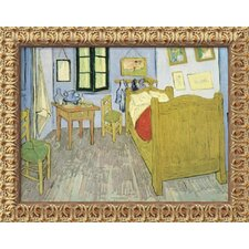 "Bedroom at Arles by Vincent Van Gogh, Framed Canvas Art - 19.5"" x 23.5"""