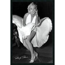 "<strong>Amanti Art</strong> Marilyn in New York, 1954 by Matthew Zimmerman, Framed Print Art - 37.66"" x 25.66"""