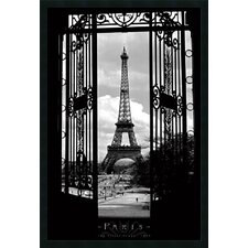Eiffel Tower 1909 Framed Photographic Print
