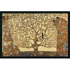 "The Tree of Life, 1905-1911 by Gustav Klimt, Framed Print Art - 25.66"" x 37.66"""