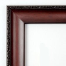 <strong>Amanti Art</strong> Country Large Mirror in Dark Walnut