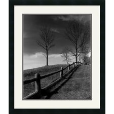 <strong>Amanti Art</strong> Fences And Trees, Empire, Mi Framed Art Print by Monte Nagler