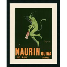 'Maurin Quina' by Leonetto Cappiello Framed Graphic Art