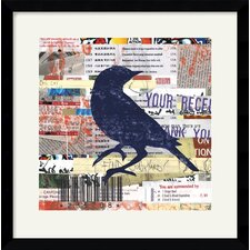 'Tweet' by Erin Clark Framed Graphic Art