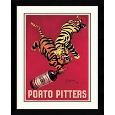 'Porto Pitters' by Leonetto Cappiello Framed Graphic Art
