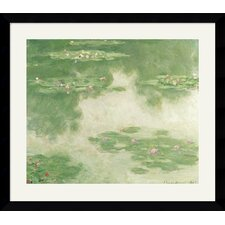 <strong>Amanti Art</strong> Nympheas, Water Landscape, 1907 Framed Art Print by Claude Monet