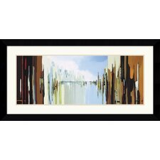 <strong>Amanti Art</strong> Urban Abstract No. 242 Framed Art Print by Gregory Lang