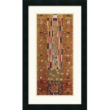 <strong>Amanti Art</strong> Pattern For The Stoclet Frieze, C. 1905-06, End Wall Framed Art Print by Gustav Klimt