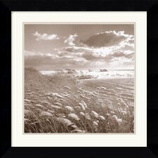 "<strong>Amanti Art</strong> Swan Pond by Michael Kahn Framed Fine Art Print - 22.62"" x 22.62"""