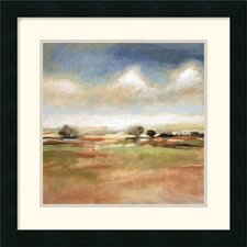 "<strong>Amanti Art</strong> Meditative Journey by T.J. Bridge Framed Fine Art Print - 18"" x 18"""